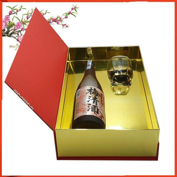 hộp quà rượu mơ